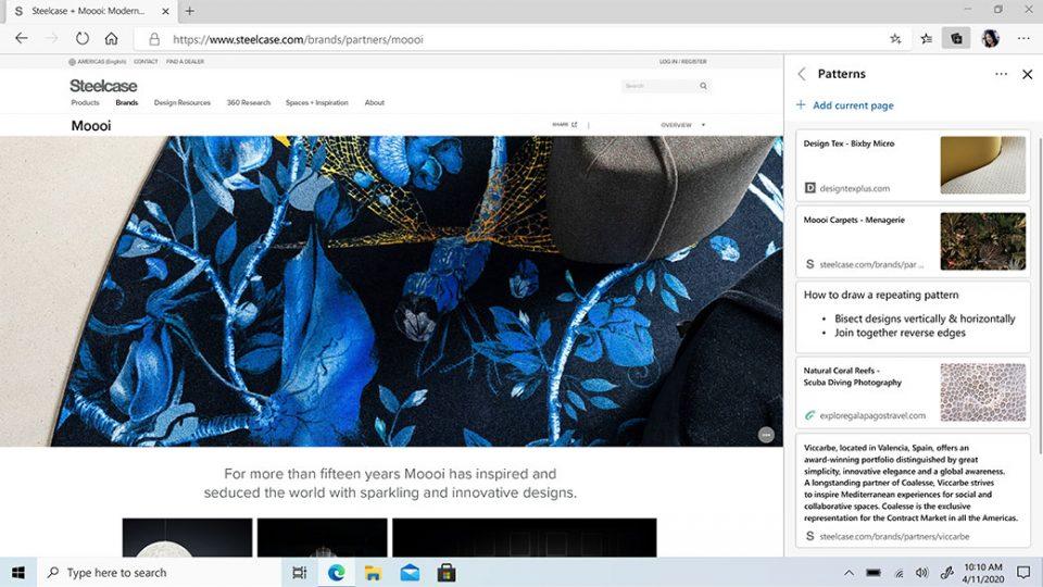 microsoft edge screenshot screen anteprima