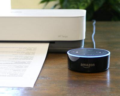 Alexa Print – ora puoi stampare documenti su stampanti compatibili con la voce