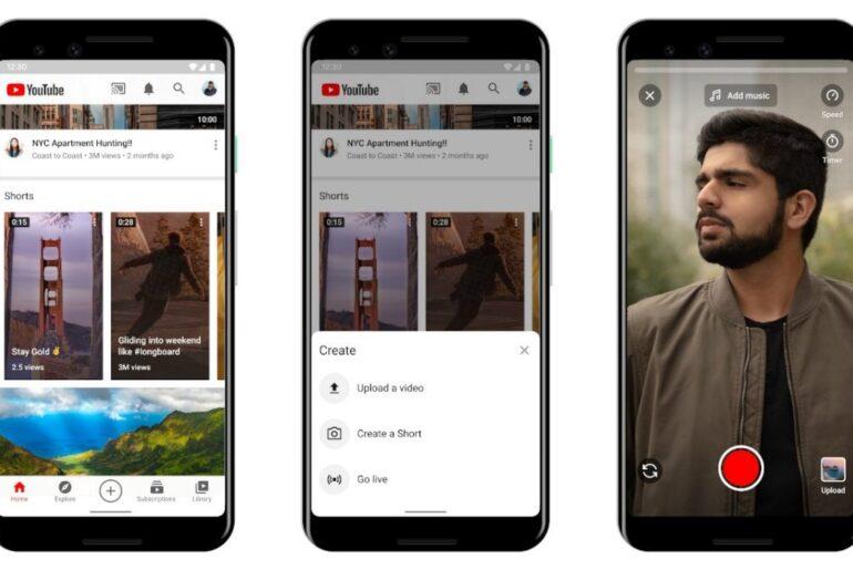 Google sfida TikTok: in arrivo Youtube Shorts